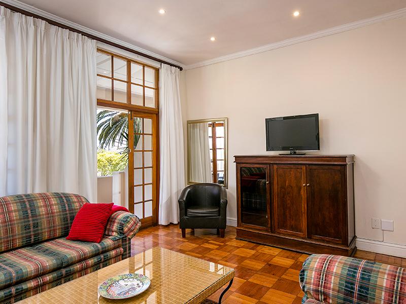 Vardagsrum Villa Andrea Kapstaden
