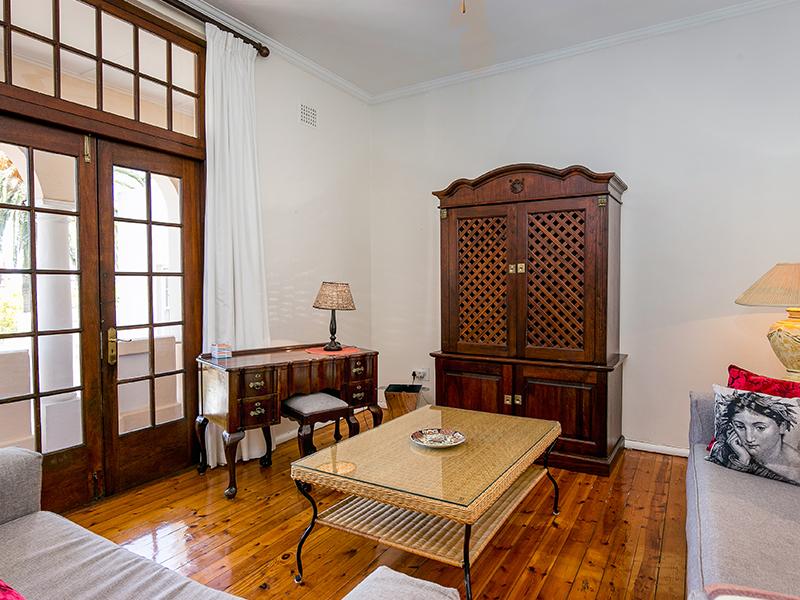 Wohnzimmer Villa Andrea Kapstadt