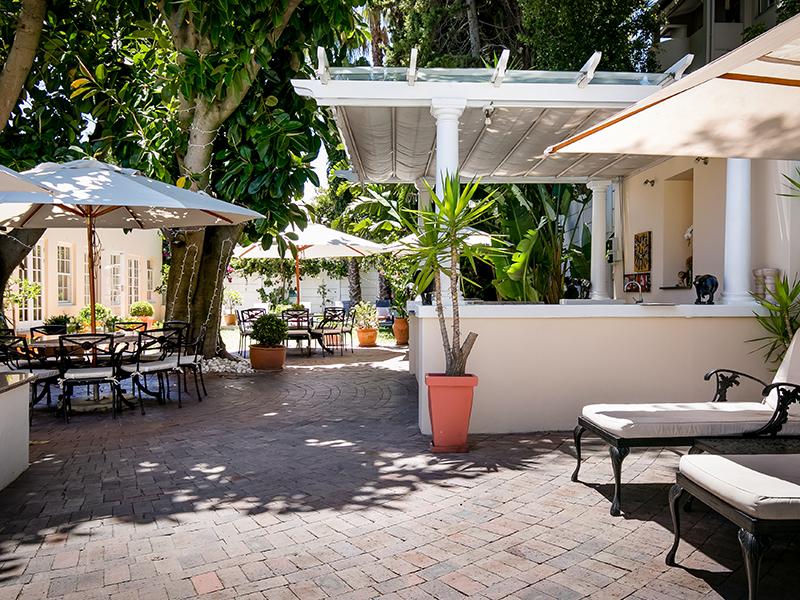 terrace Villa Andrea Capetown