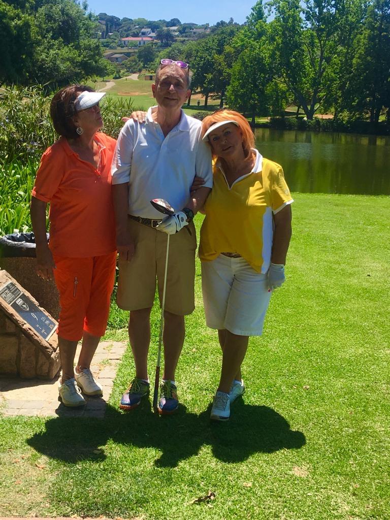 Golf med vänner