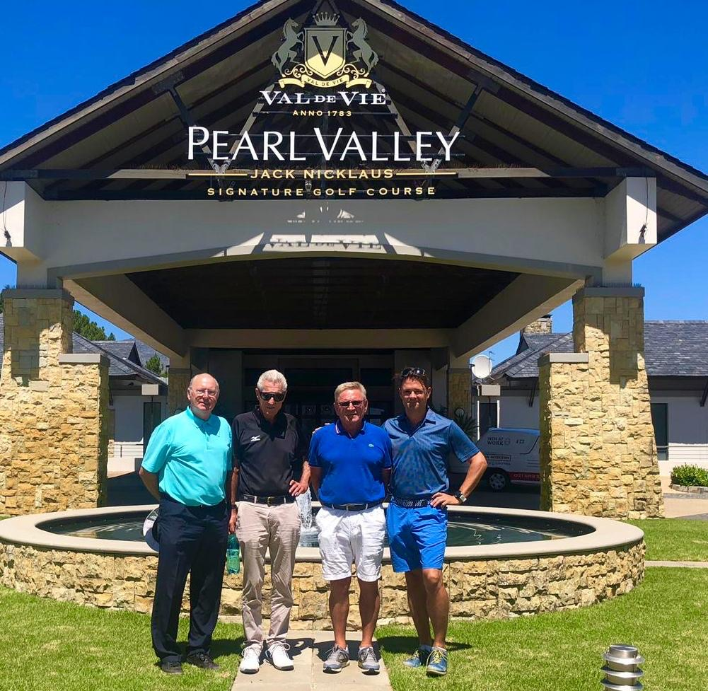 Golf i Pearl Valley