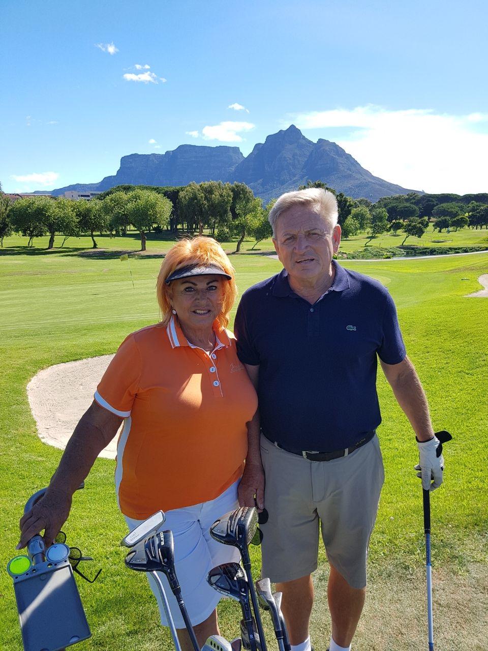 Kapstaden Villa Andrea golf